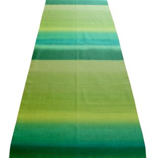 Finnish Marimekko Ishimoto Green Poukama Cove Table Runner