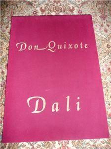 Salvador Dali Don Quixote Bas Relief Gold Edition