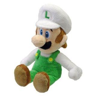Nintendo Super Mario 8 quot Plush Sanei Doll Fire Luigi