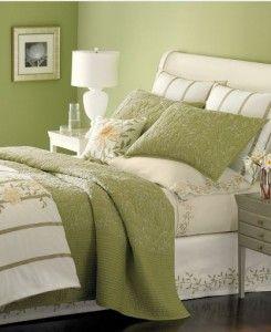 Martha Stewart Veranda Vines King Duvet Cover Cream Yellow Green