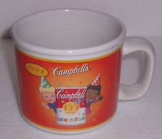 2004 Campbells Kids 100 Years Soup Mug Houston Harvest