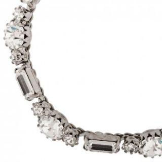 Martine Wester Martine Wester Crystal Chain Bracelet