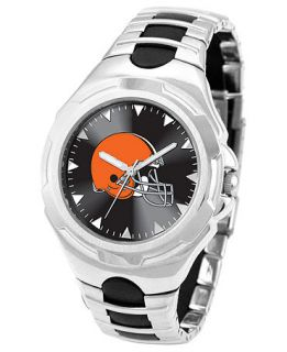 Game Time Watch, Mens Cleveland Browns Black Rubber and Stainless