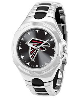 Game Time Watch, Mens Atlanta Falcons Black Rubber and Stainless