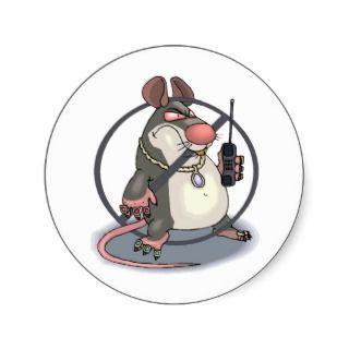 Anti Snitch No Rats Sticker