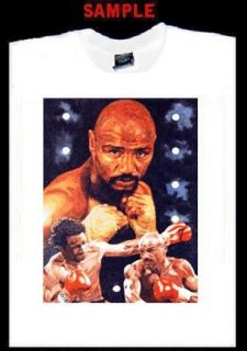Marvin Hagler Custom T Shirt Tee Boxer Boxing T201