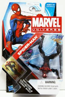 Marvel Universe Series 4 007 Spider Man Action Figure