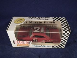 LEGEND SERIES LIMITED EDITION #21 MARVIN PUNCH NASCAR DIE CAST CAR
