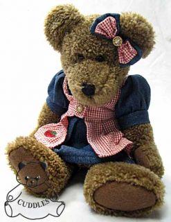 Mary Ellen Patchbeary Boyds Bear Plush Toy Stuffed Animal Teddy