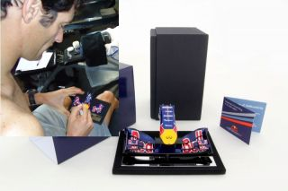 Amalgam Mark Webber Signed Red Bull RB7 F1 2011 Nosecone