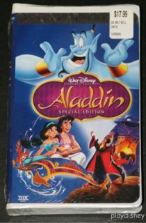 Disney Aladdin VHS Special Platinum Edition New SEALED