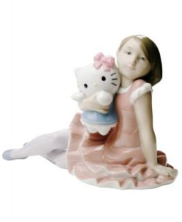 Nao by Lladro Collectible Figurine, Hello Kitty Happy Birthday