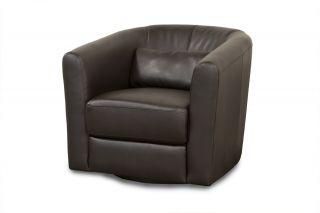 Diamond Sofa Angelica Low Profile Swivel Chair Mocca Angelicam