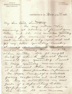 Hatfield McCoy Content Love Letter Huntington WV Matewan Mingo