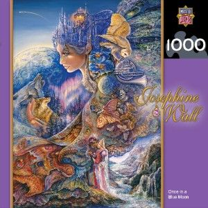 Masterpieces Josephine Wall Once in A Blue Moon Jigsaw Puzzle 1000 PC