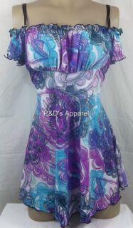 New Womens Maternity Clothes s M L XL Multi Color Purple Shirt Top