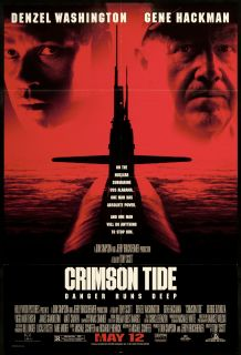 Crimson Tide 1995 Original U s One Sheet Movie Poster