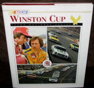 NASCAR Winston Cup Grand National Series Yearbook 1980 HC w DJ