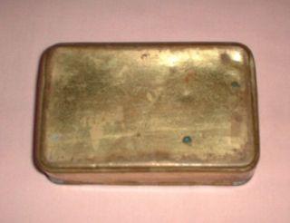 Genuine WW I 1914 Christmas Princess Mary Brass Tin