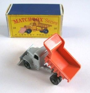 Matchbox Lesney 16C Scammell Snow Plough 1963 MIB