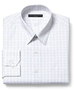 Geoffrey Beene Dress Shirt, White and Black Stripe