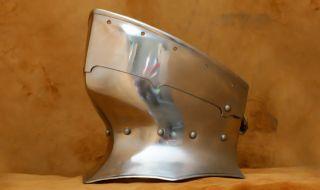 15 TH Century Gothic Gorget Medieval Armor SCA