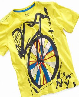 DKNY Kids T Shirt, Boys Spinner Tee   Kids Boys 8 20