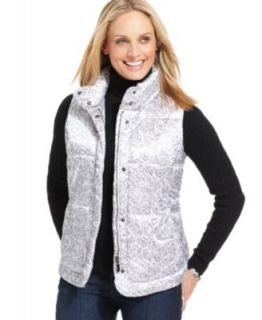 MICHAEL Michael Kors Vest, Faux Fur Hooded Puffer   Womens Coats