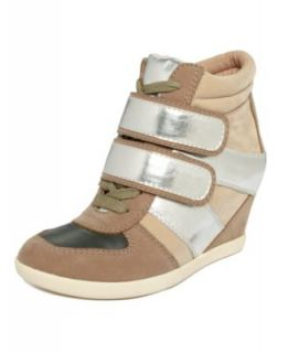 Material Girl Shoes, Tourist Wedge Sneakers