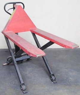 Global Industrial High Lift Skid Truck Pallet Jack 2200 lb Capacity
