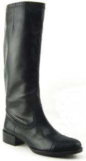Maxstudio Bolivia Black Womens Designer Knee High Boots 10