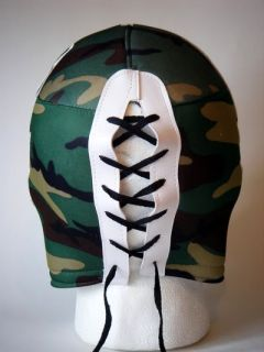 Mexican Wrestling Camouflage Military Style Mask New
