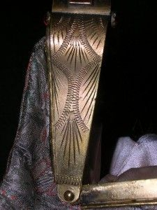 1939 Handbag Actress Dame May Whitty Samuel Goldwyn Art Deco Ruby GLS