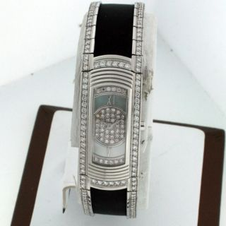 Mauboussin 18K White Gold All Diamond New $41 812 00 Mother of Pearl