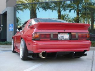 87 91 Mazda RX7 FC3S Spec re Carbon Fiber Rear Diffuser