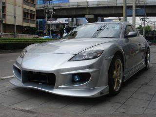 03 04 05 06 07 08 Mazda RX8 vs Full Body Kit Front Rear Bumper Side