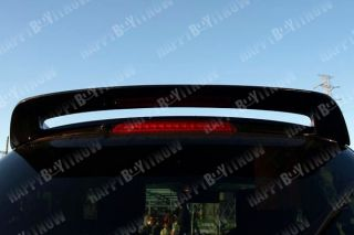 Carbon Fiber Mazda 2 de III Rear Trunk Spoiler 07 10