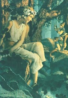 Maxfield Parrish Set of 90 Cards
