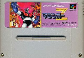 SNES Mazinger Z Nintendo Super Famicom Japan Anime JP