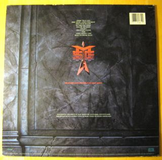 MSG Perfect Timing 12 Vinyl LP Chrysalis 80 Lot