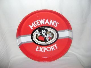 Mcewans Export Beer Tray Red White home / Office / Bar / Garage Man