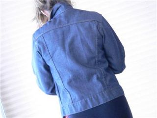 Vintage Toughskins Denim Jacket  Roebuck 70s Era