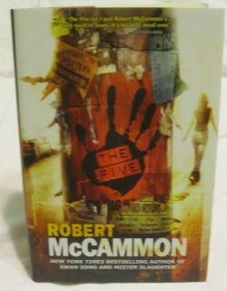 The Five by Robert McCammon    SIGNED Trade Hardcover Edition From Sub
