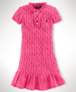 Ralph Lauren Kids Dress, Little Girl Striped Shirtdress   Kids