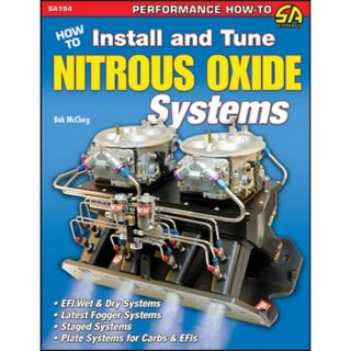 to Install & Tune Nitrous Oxide Systems Book By Bob McClurg, Paperback