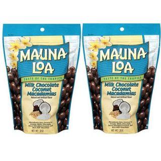 Mauna Loa Milk Chocolate Coconut Macadamia Nuts   2 Bags   Free