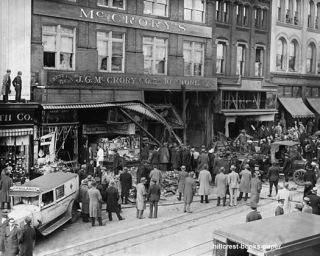 McCrory Five Dime Store Fire Washington DC Photo Pic