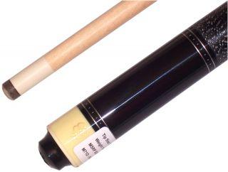 McDermott M71D Raider Ivory Black Pool Billiards Cue Stick Free Case