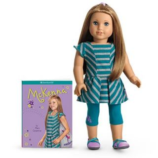 NEW NIB NRFB American Girl McKenna Doll and Book