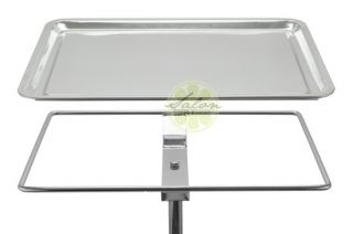 Salon Beauty Sterile Instrument Mayo Stand Stainless Steel Spa Tray